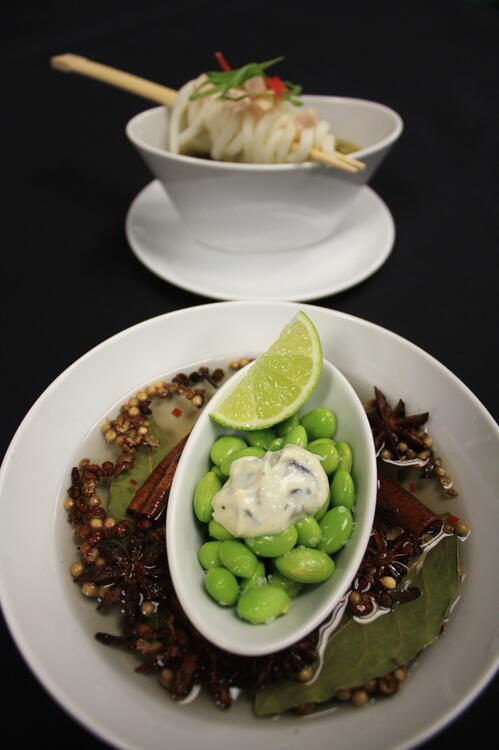 3 noodles and beans - lauren cerullo