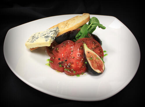 5 tomato salad - lauren cerullo