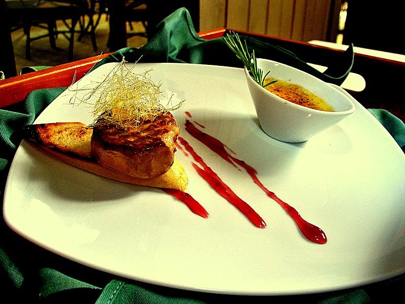 1 foie gras