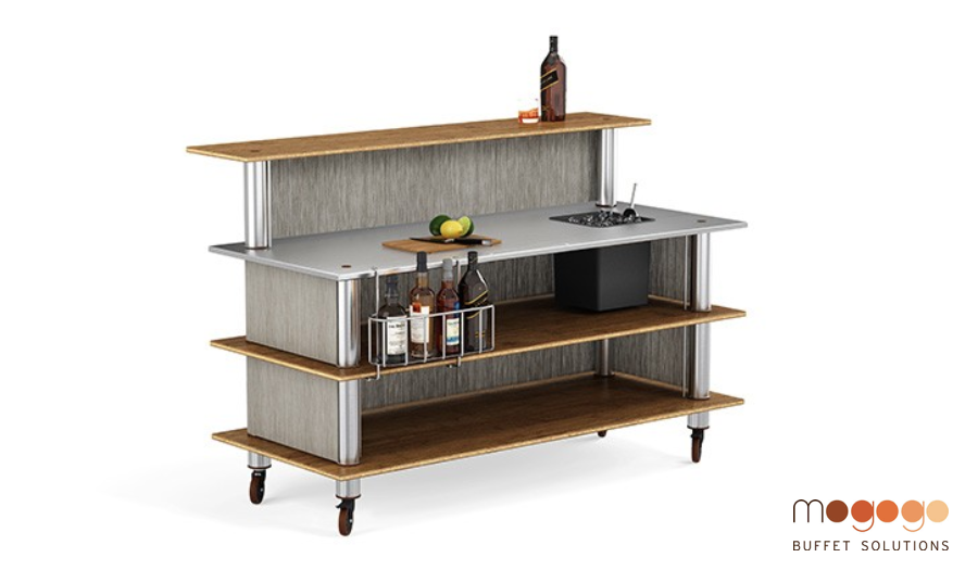 A New Way to Roll Out Your Bar -- Literally