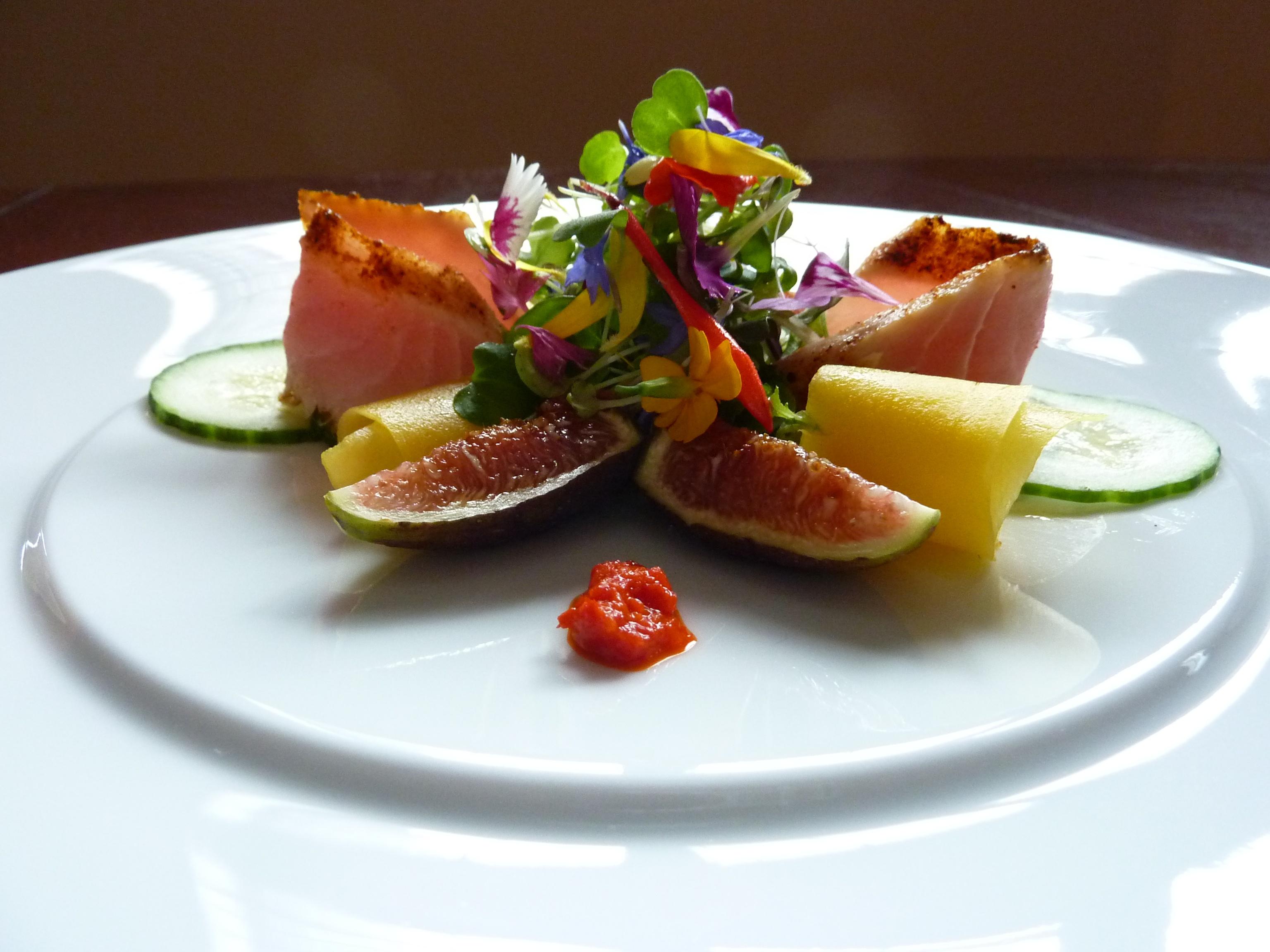 cajun seared tuna