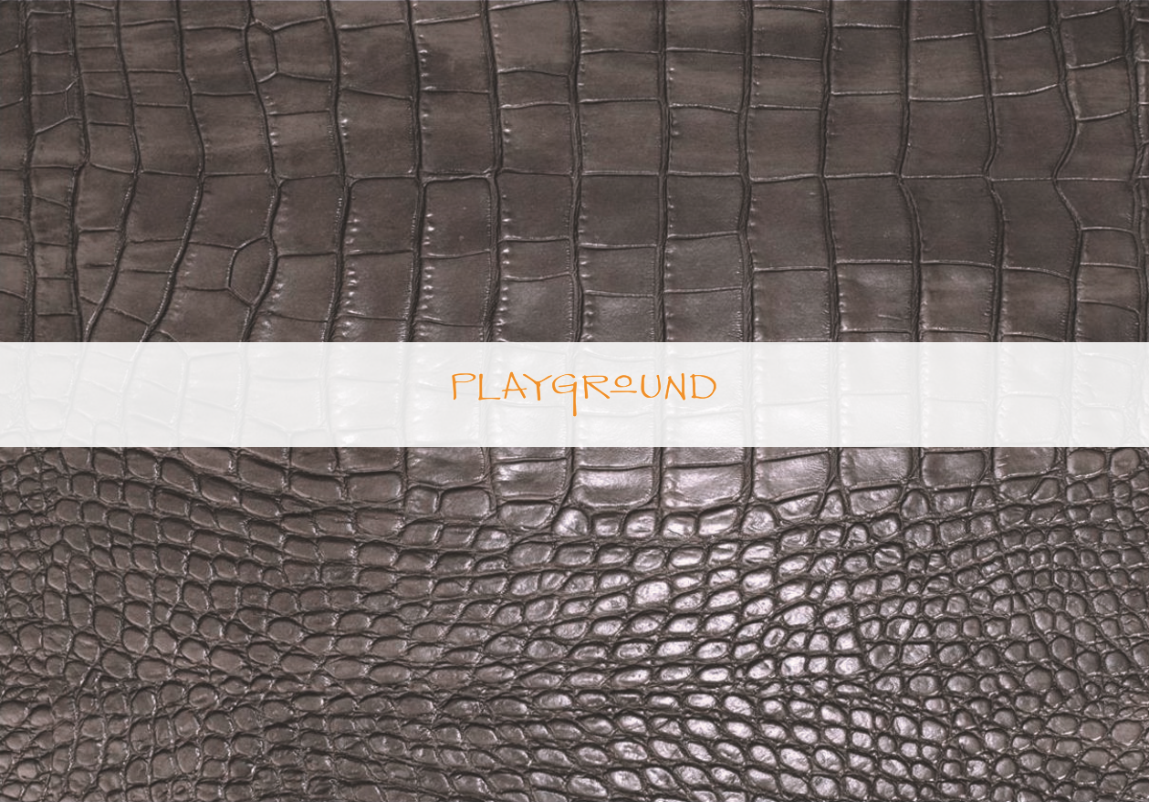 Playground Turning Recycled Materials into Fun Placemat Patterns
