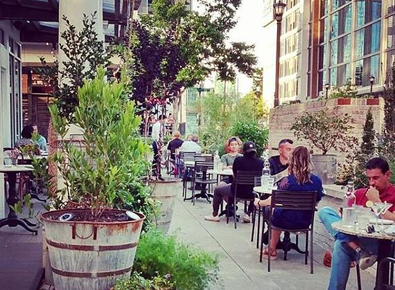 Rosewater Outdoor Dining