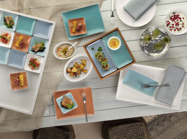 The Use of Contrasting Colors on the Dinner Plate