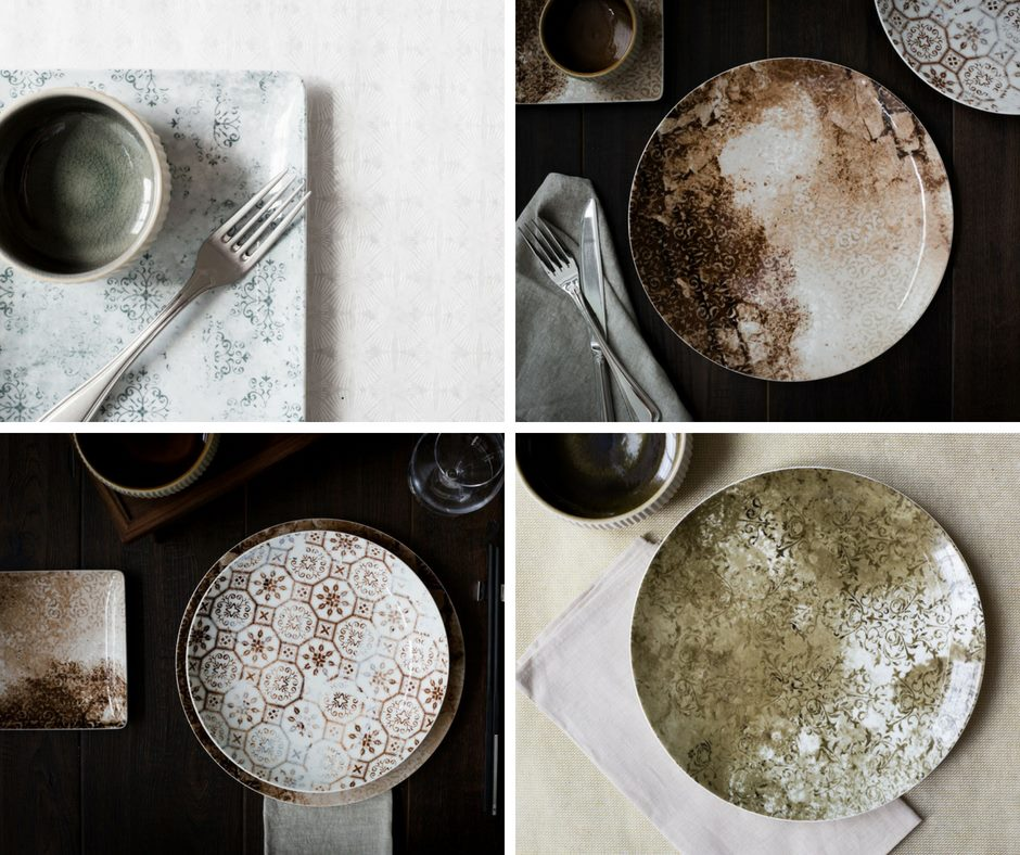 Vintage Tiles Dining with an Air of Antiquity