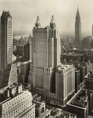 Waldorf Astoria Hotel in 1931