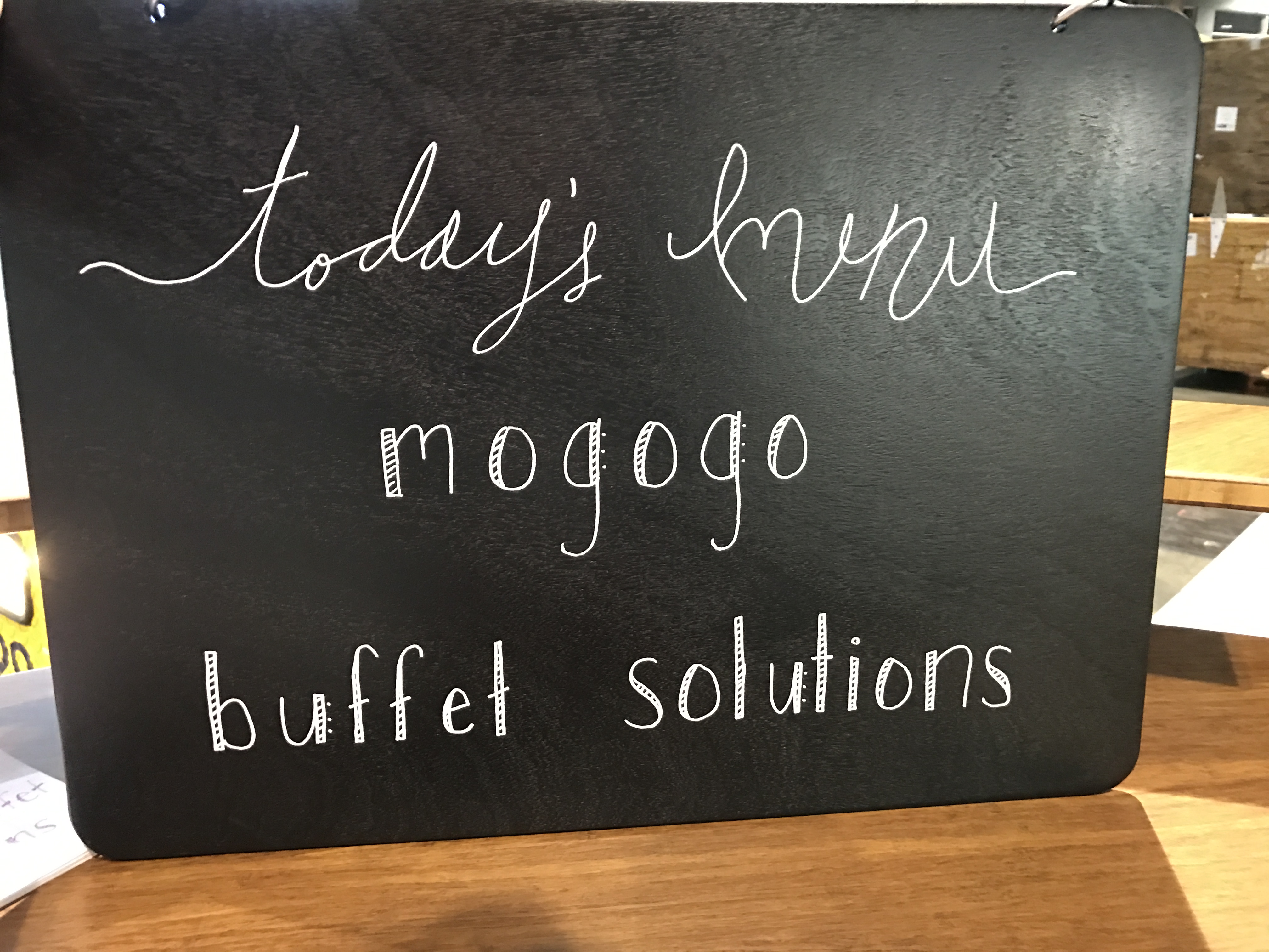 Why Signage Is Important for Buffet Service