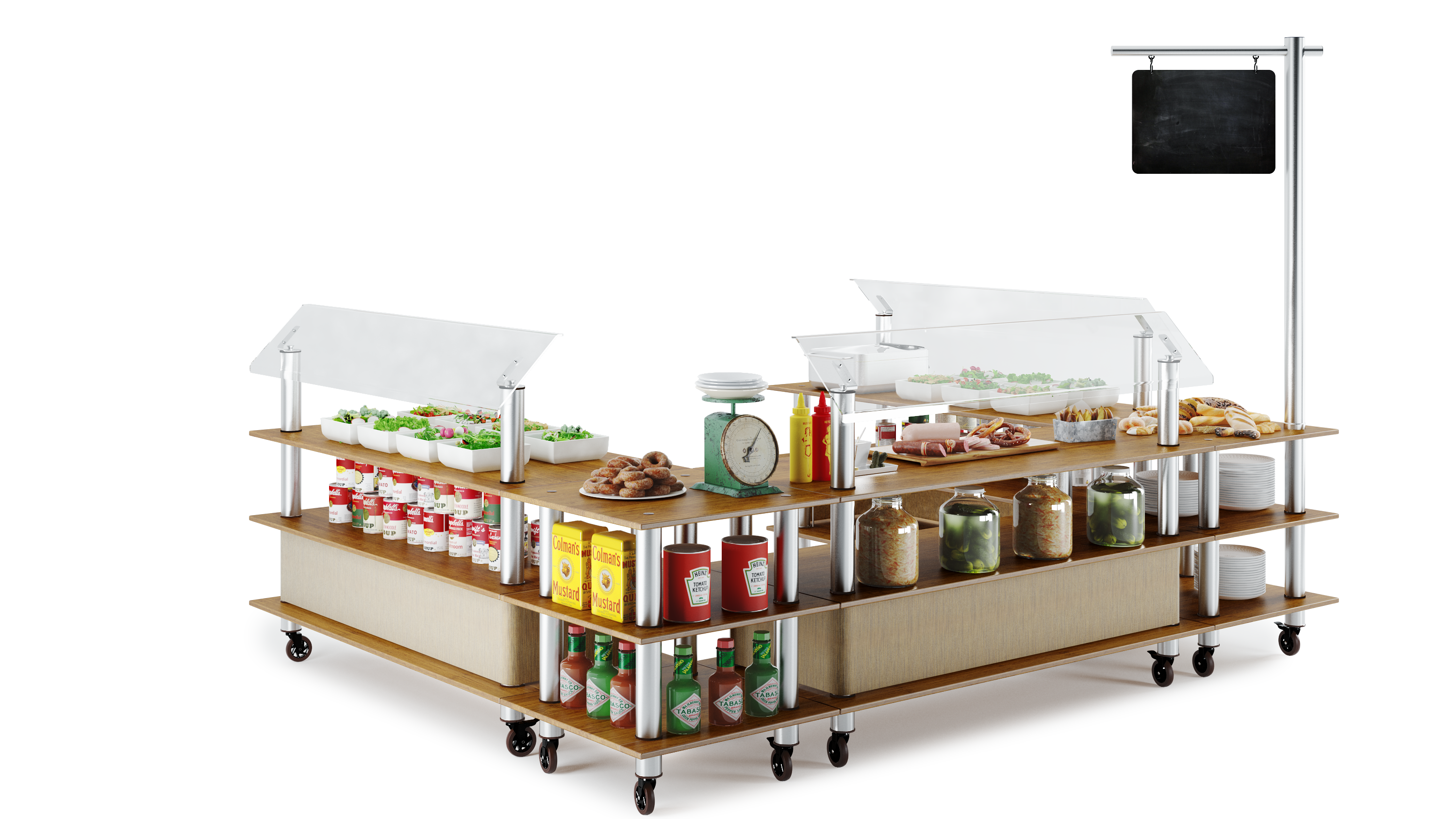buffet solutions and signs