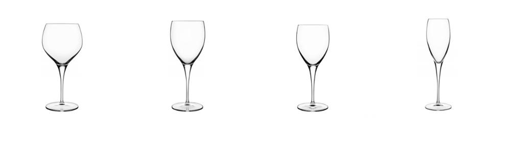 masterpiece glassware michelangelo luigi bormioli