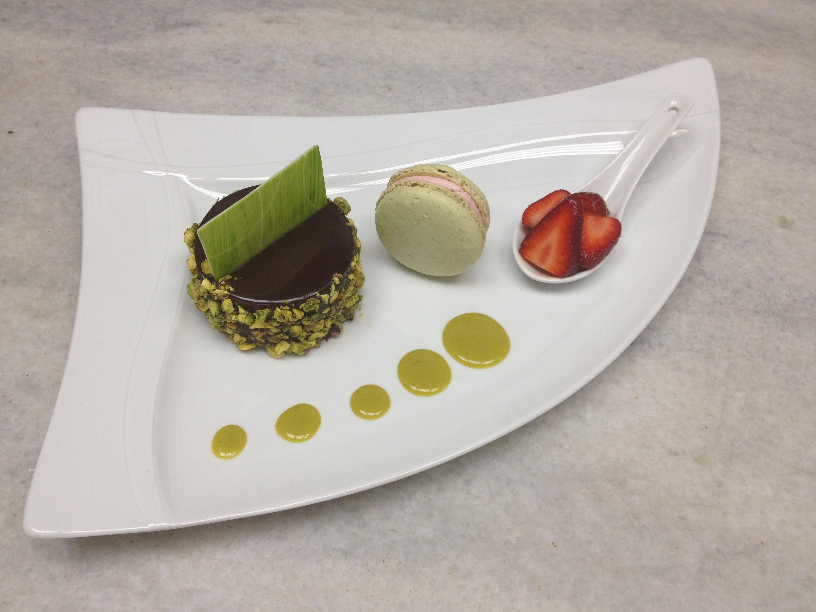 A Stunning Dessert Plate from Natasha Capper