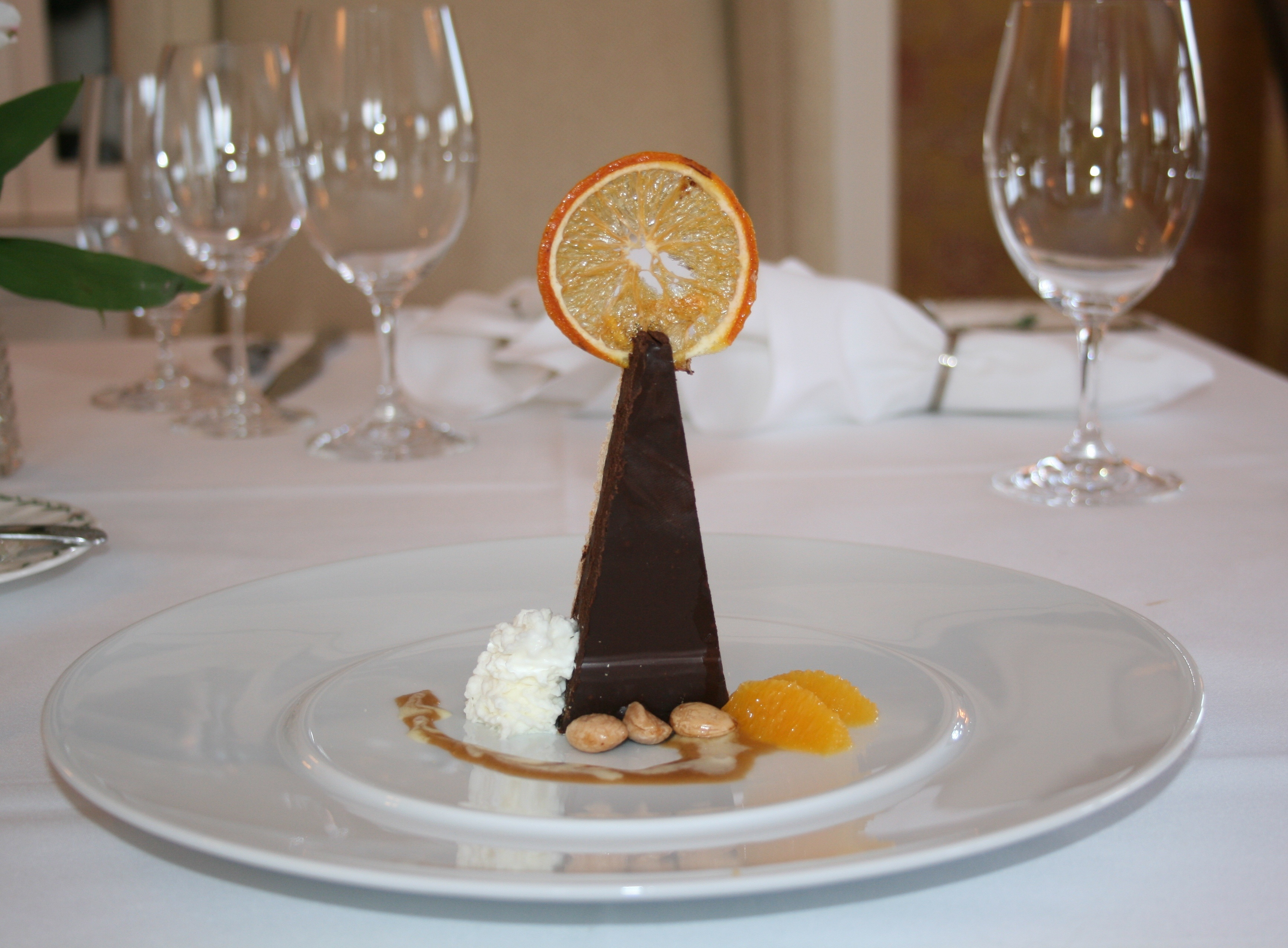 Check Out This Chocolate Pyramid Tart from Val Fortin